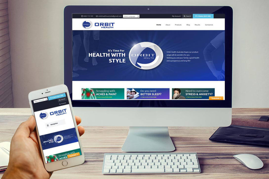 Orbit-Health-Website