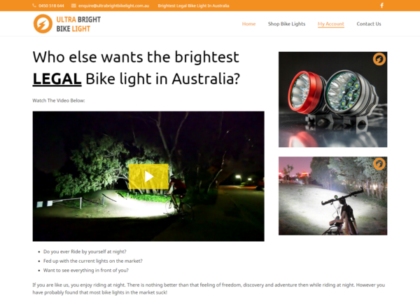 Ultra Bright Bike Light