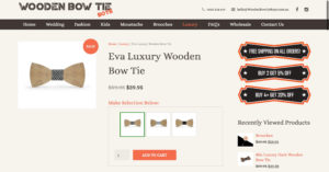 wooden bow tie boyes