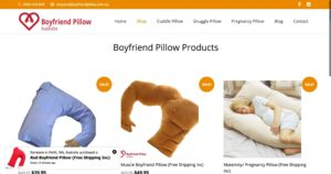 boyfriend pillows