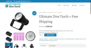 ultimate dive torch