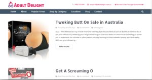 Adult delight Adult shop Australia