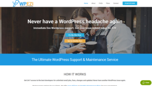 wp ezi WordPress support