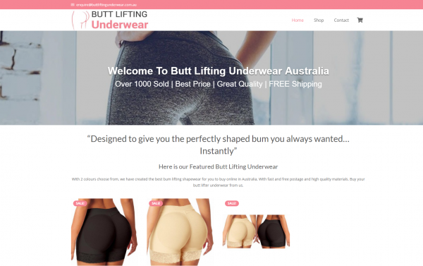 Butt Lifting Underwear