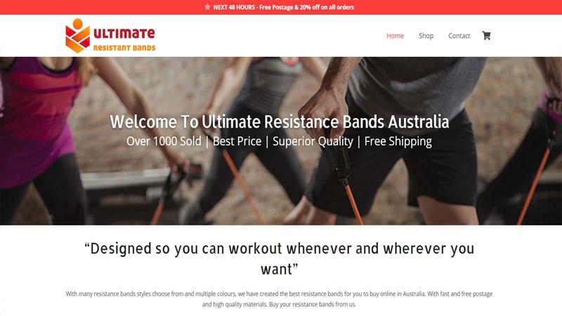 Resistance bands Australia