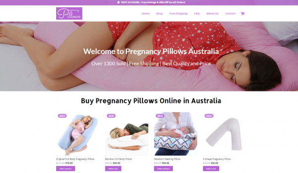 Pregnancy Pillows Australia